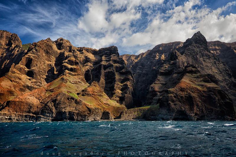 The Napali Coast by Sea (#0404)
