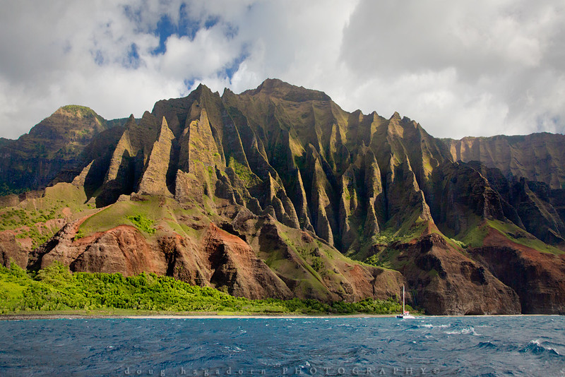 Sailing The Napali Coast