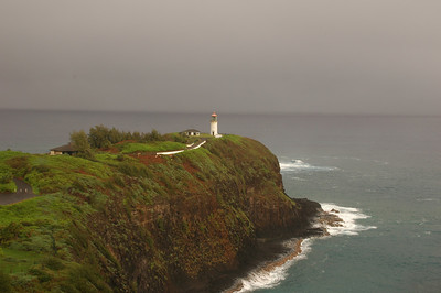 Kilauea Wildlife Refuge and Lighthouse