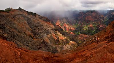 Majestic Waimea Canyon, Kauai, Hawaii