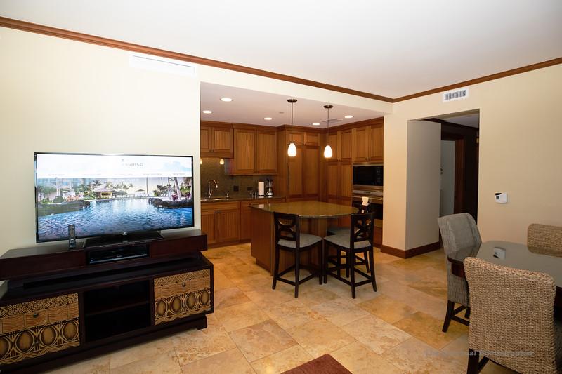 Koloa Landing Kitchen From Living Room (5135) Marked