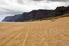 Polihale Beach Na Pali Coast Starts (5576) Marked