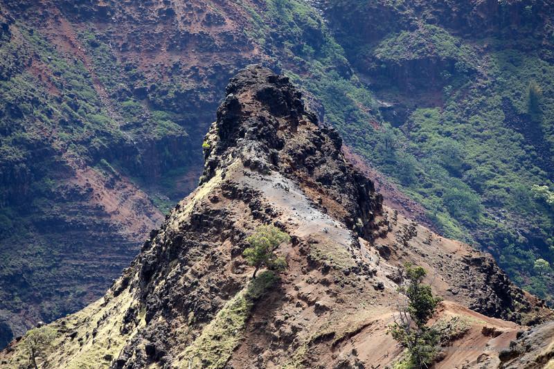 Waimea Canyon Point (5436) Marked