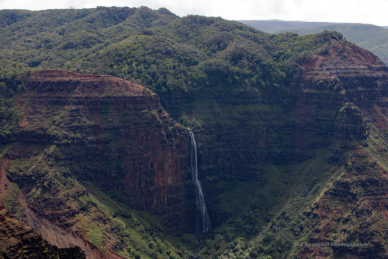 Waimea Canyon Medium Waipoo Waterfall (5434) Marked