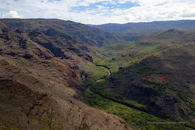 Waimea Canyon River Runs Through It (5423) Marked