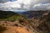 Waimea Top of Trail View Down (5507) Marked