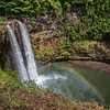 Wailua Falls with Rainbow