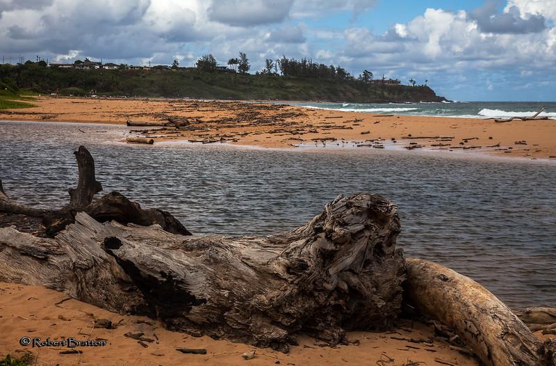Kauapea Beach, popularly known as Secret Beach