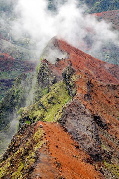 Waimea Canyon Cloudy Landscape 2