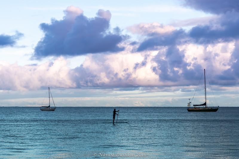 Hanalei Bay at Sunrise