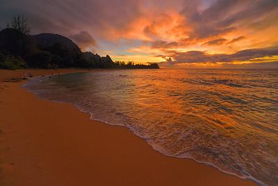 Haena Sunset #1