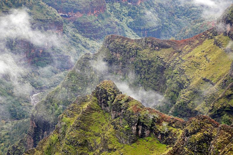 Waimea Canyon Rocky Landscape