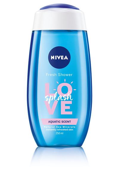 3216899 NIVEA Dušigeel LOVE Splash Aquatic 250ml 83629 9005800223070