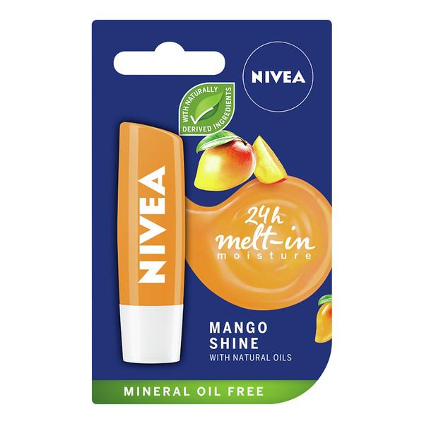 3222999 NIVEA Hüg. huulep. Mango Shine 5,5ml 85159 9005800303987