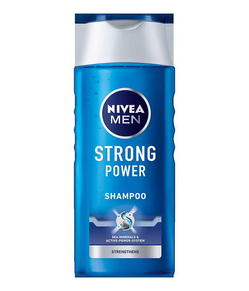 334099 NIVEA Šampoon meestele Strong Power 250 ml 81423 4005808255863