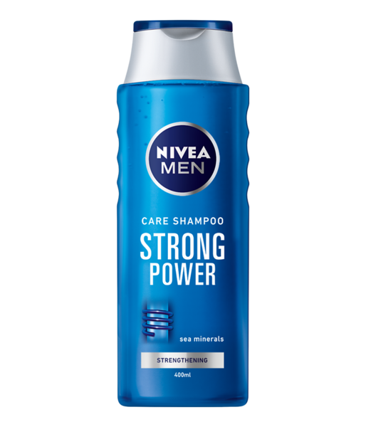 337299 NIVEA Šampoon meestele Strong Power 400 ml 81424 9005800328058