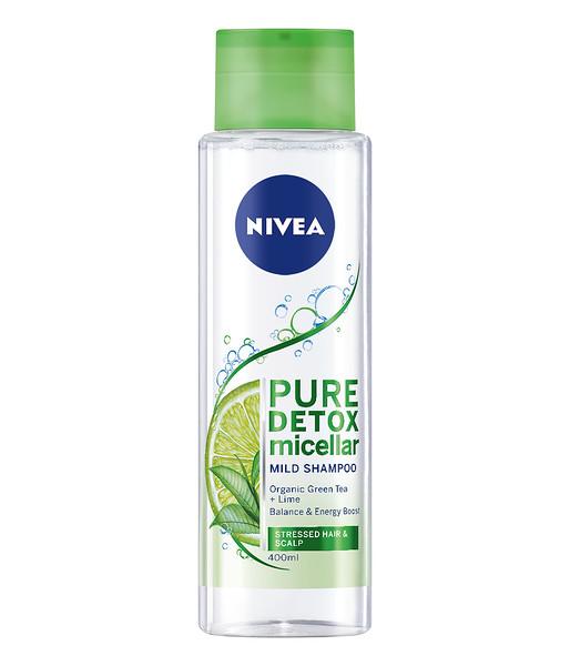 3218899 NIVEA Pure Detox Mitsellaaršampoon 400ml 89103 5900017071442