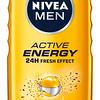 3227199	NIVEA Dušigeel Active Energy meestele 500ml 92847	9005800341644