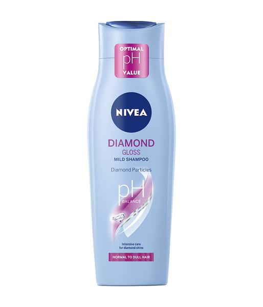 334899 NIVEA Šampoon Diamond Gloss Care 250 ml 81594 4005900000385