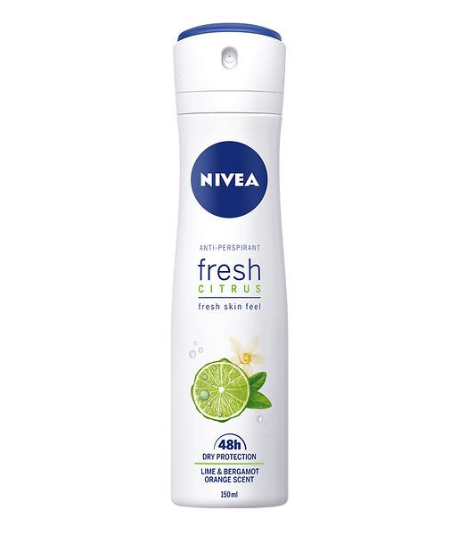 3225899NIVEA  Spray Fresh Citrus naistele 150ml 853235900017075419