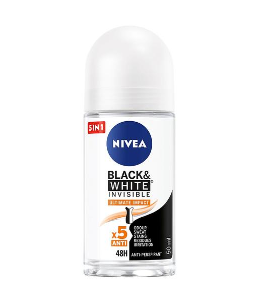3222599 NIVEA Roll Black&White ULTIMATE IMPACT naistele 50ml 83490 42397649