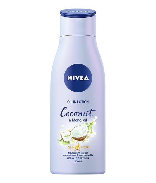 3214199NIVEA Ihupiim õliga Coconut & Monoi Oil 200ml 843815900017068954