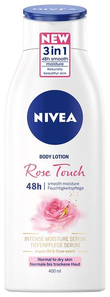 3229599NIVEA Rose Touch niisutav ihupiim 400ml 937009005800346922