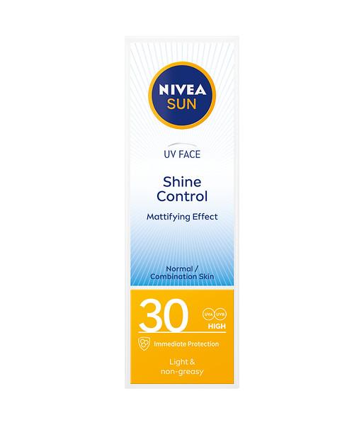 3228699NIVEA SUN Näokreem Shine Control SPF30 50ml 860044005900462121