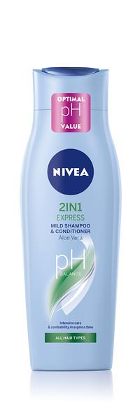 334199 NIVEA Šampoon + Palsam 2 In 1 250ml 81435 4005808346424