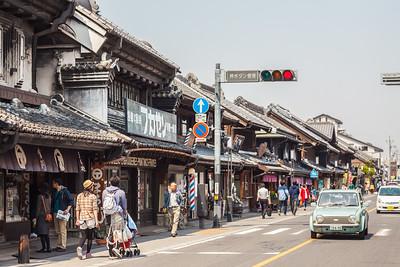"""Ichiban Gai, Kurazukuri Street - """"Little Edo"""""""