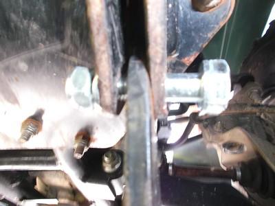 Kawasaki Prarie 360 ATV Plow