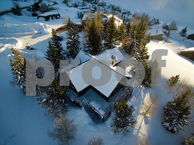 Kay & Pat Allen house Mt CB, Colo. on Jan. 28, 2017.  (Photo/Nathan Bilow)