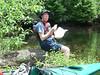 1252 DSCN6189 Lunch on a log