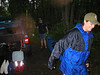 P6200003 Mac and Kit navigate rain, poison ivy, mosquitoes