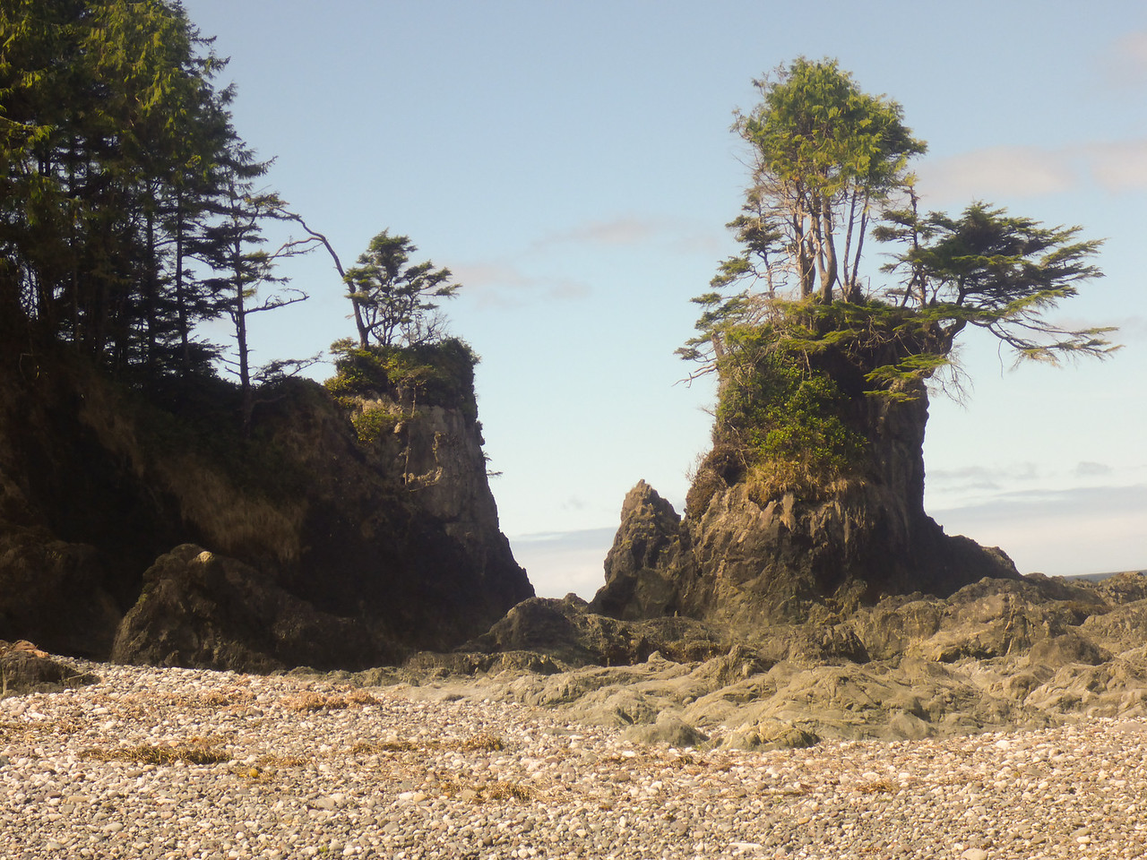 north Beach Sea Stacks