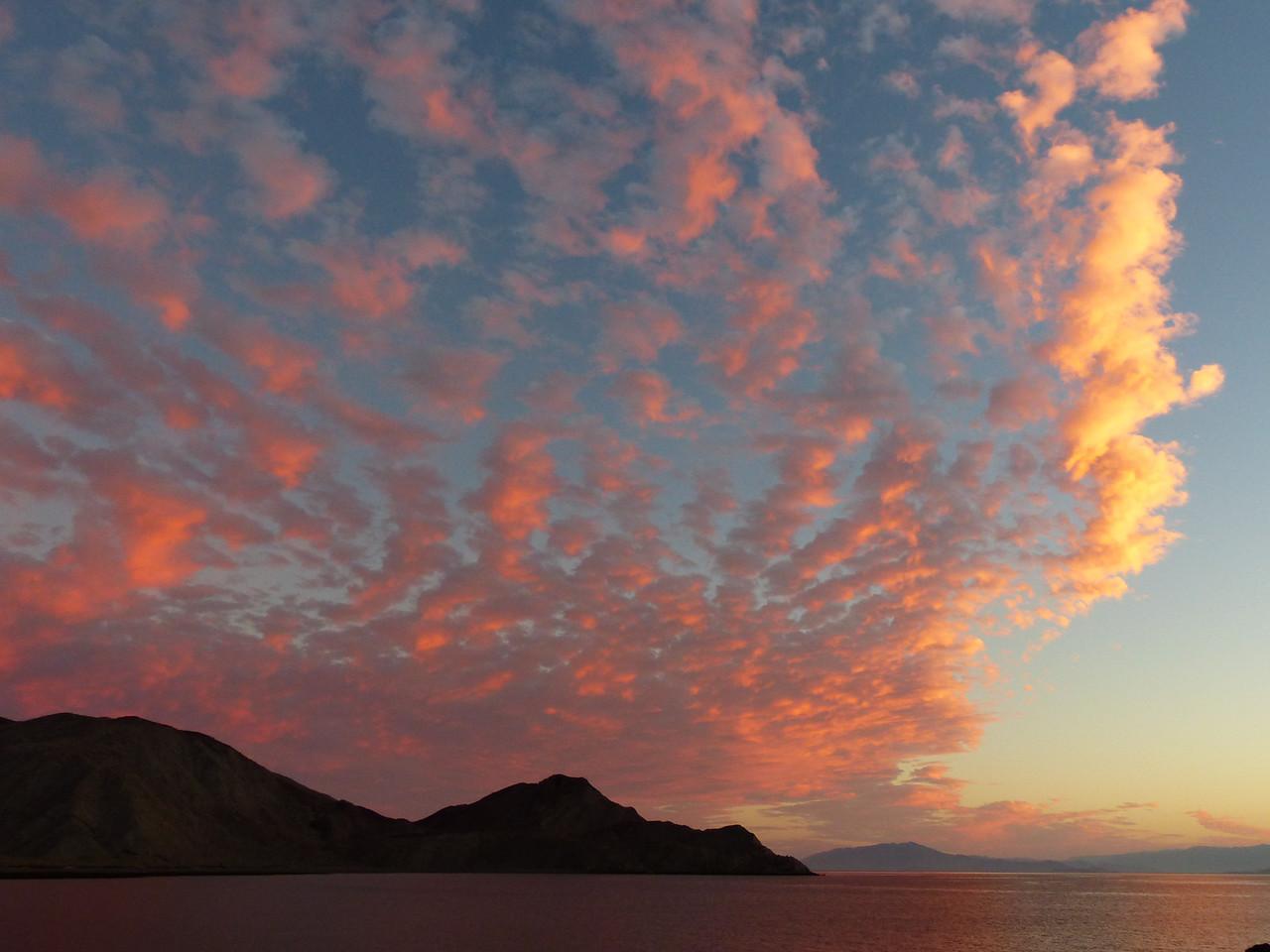 Sunset at Humbug Bay.