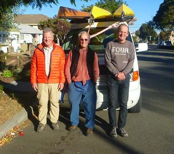 Craig, Rich, and Dave leaving Redondo Beach.