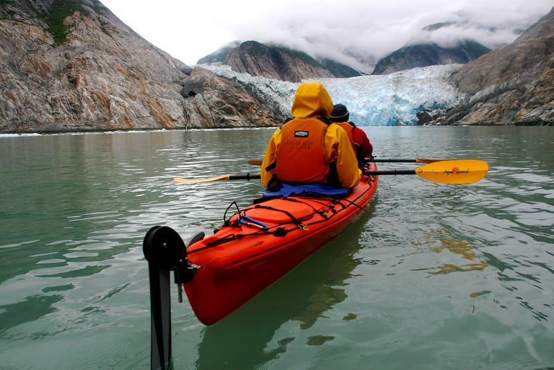 We also visit North Sawyer Glacier.