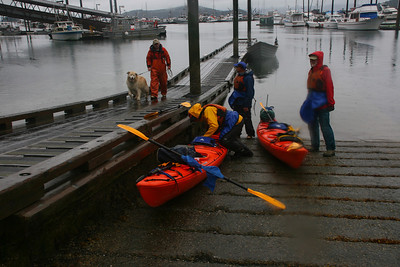 We prepare to launch from Auke Bay, located about 12 miles north of Juneau, Alaska.