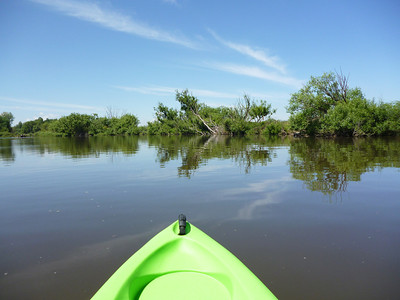 Kayaking the Molonglo River, Canberra