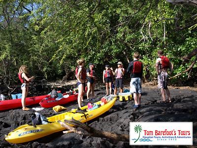 Kayaking Tours on Hawaii