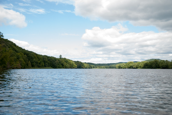 Kayaking on Connecticut River
