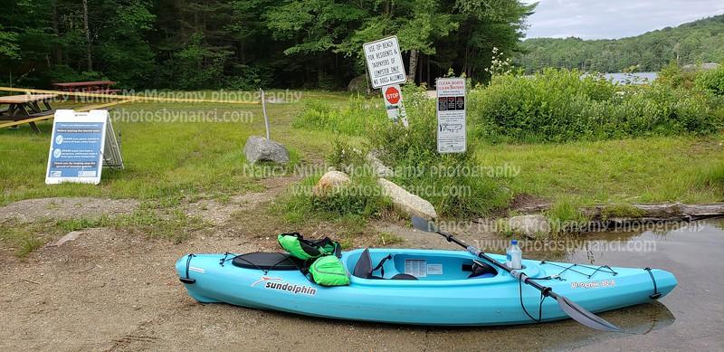 Kayaking on Long Pond