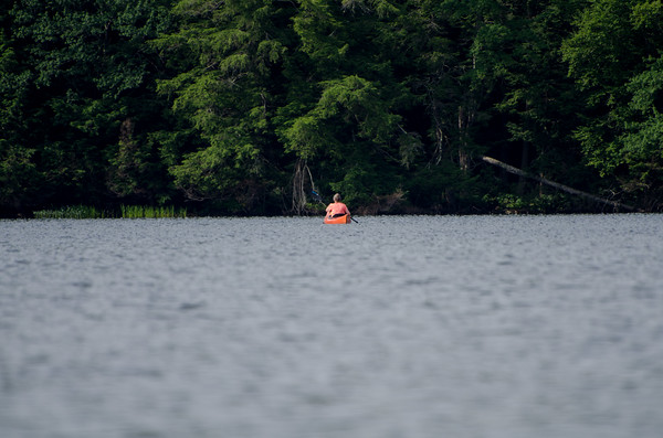 Kayaking on Spectacle Pond