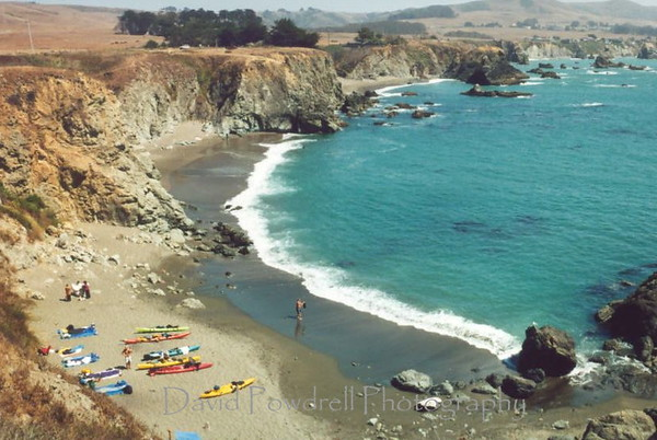 Northern California campsite
