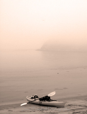 Morro Bay fog before sunrise.