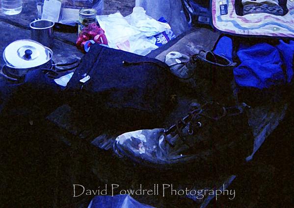 Mark's gear in watercolor