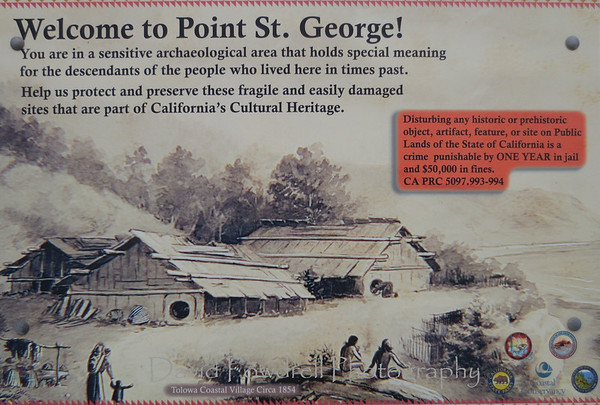 Point St. George.