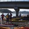 Getting ready to leave Mokau Bridge