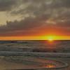 Sunset Mokau Beach